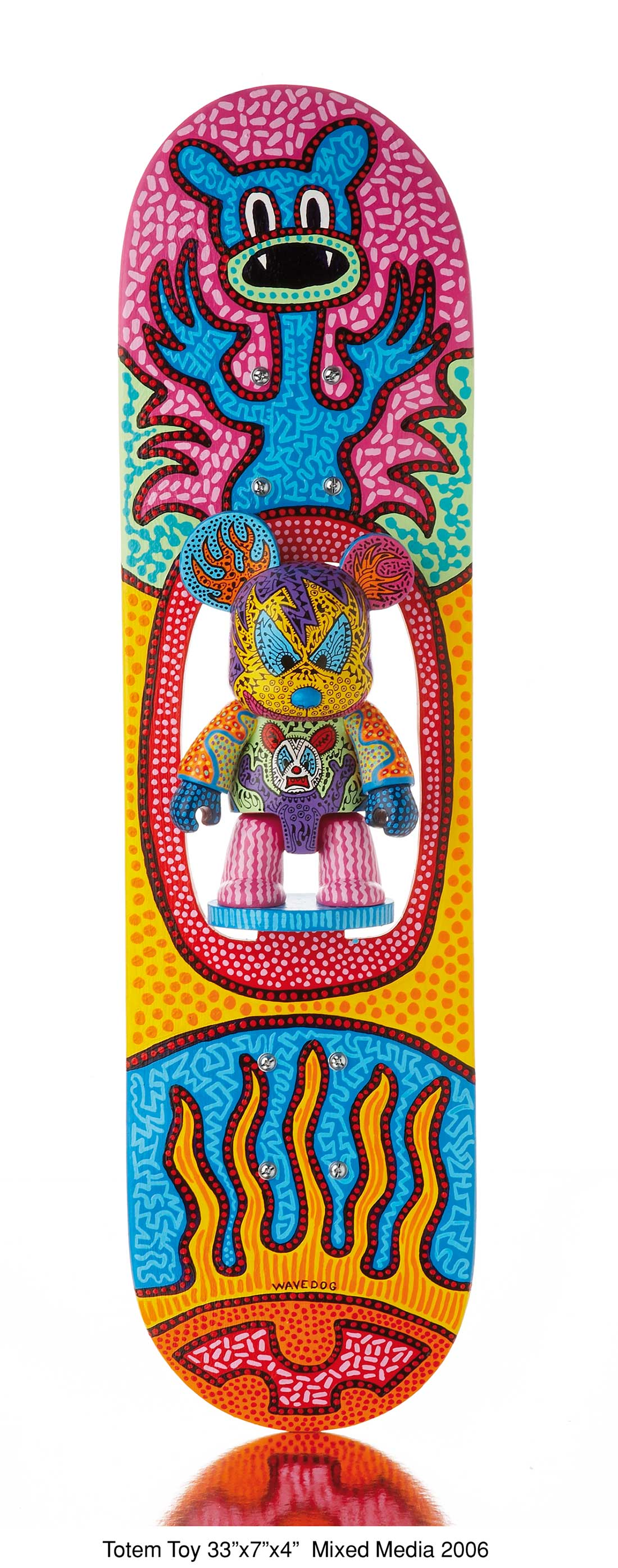 »Totem Toy« 33x7x4'' Mixed Media 2006