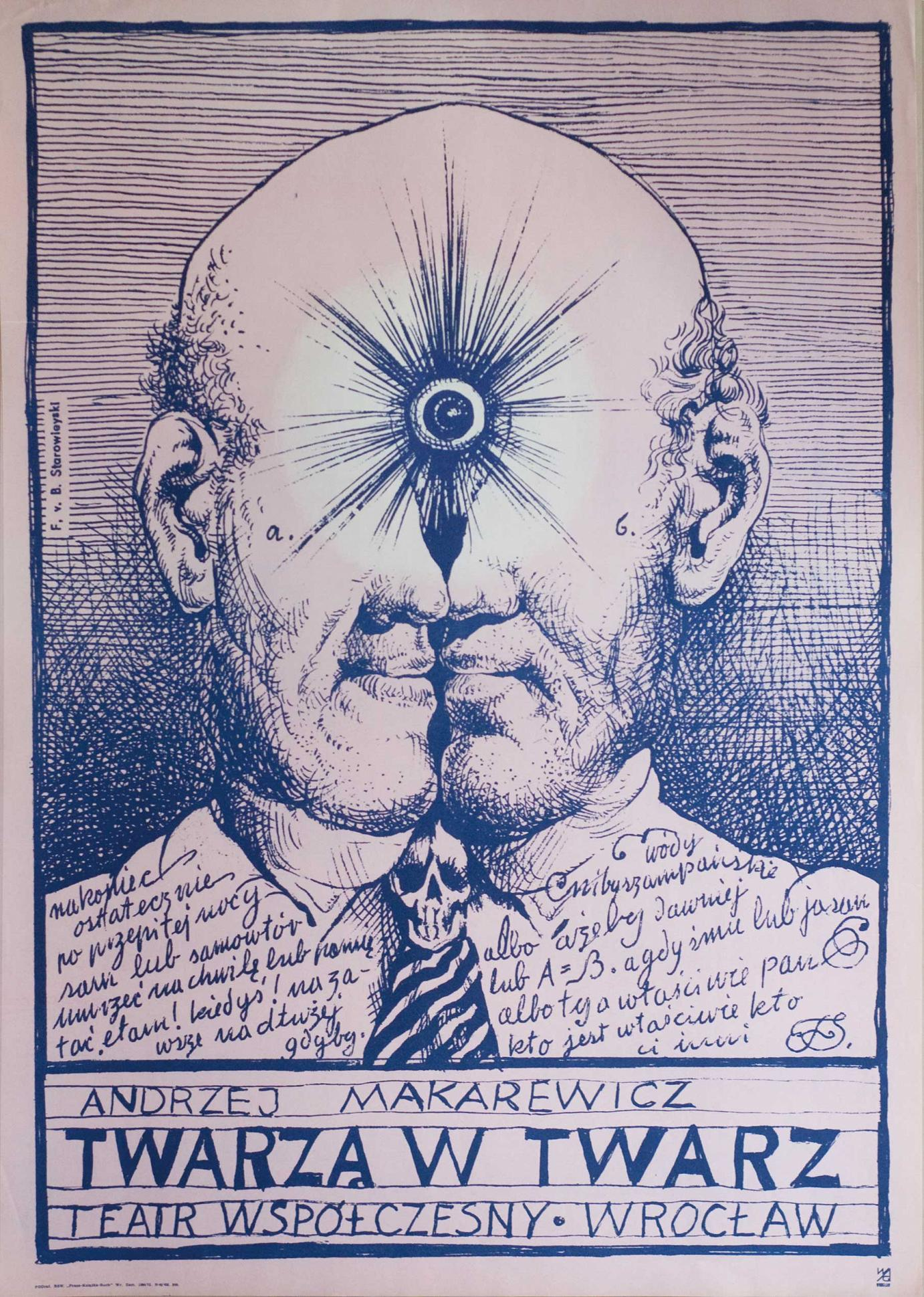 Franciszek Starowieyski »Twarza w twarz« (1973)