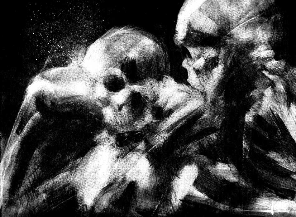 Ein-knochenharte-Punch