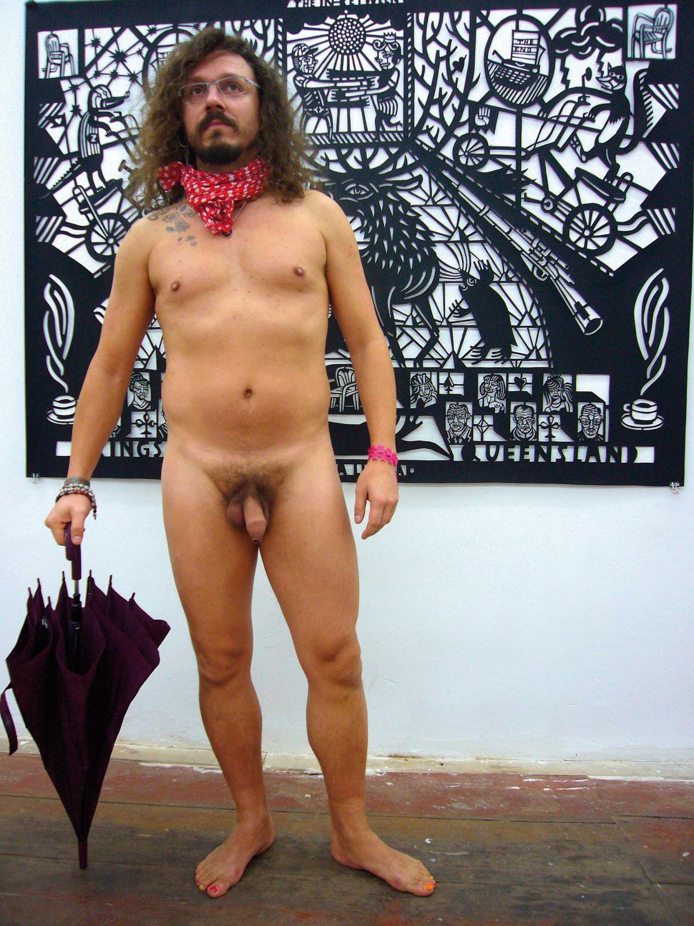 Fotografie von Christian Gfeller für die Ausstellung Naked In The Gallery