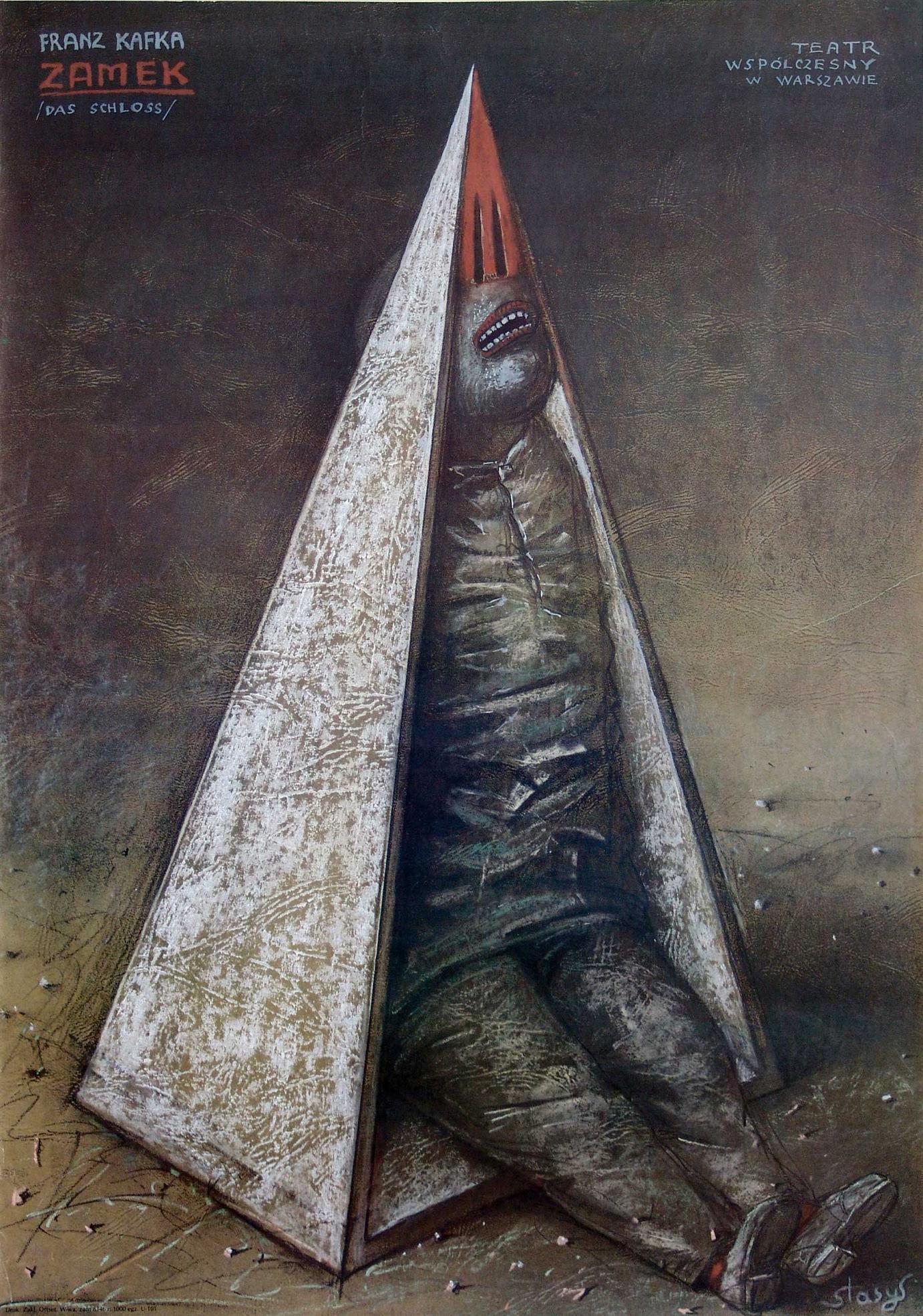 Stasys Eidrigevicius »Zamek« (1987)