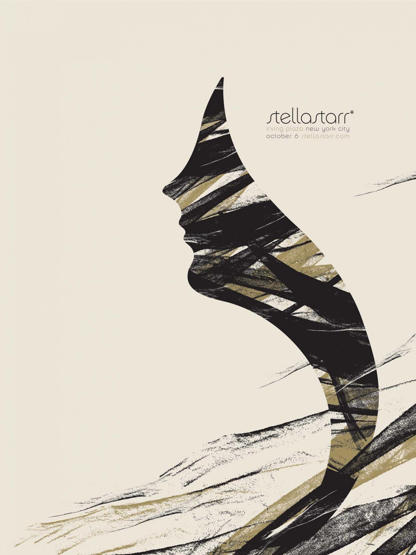 Stellastar | 45,7cm x 61cm | Siebdruck | Auflage: 50