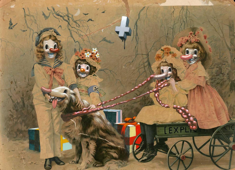Victor Castillo »Supplica a Mia Madre« · 2007 · Acryl auf Papier · 44 cm x 33 cm