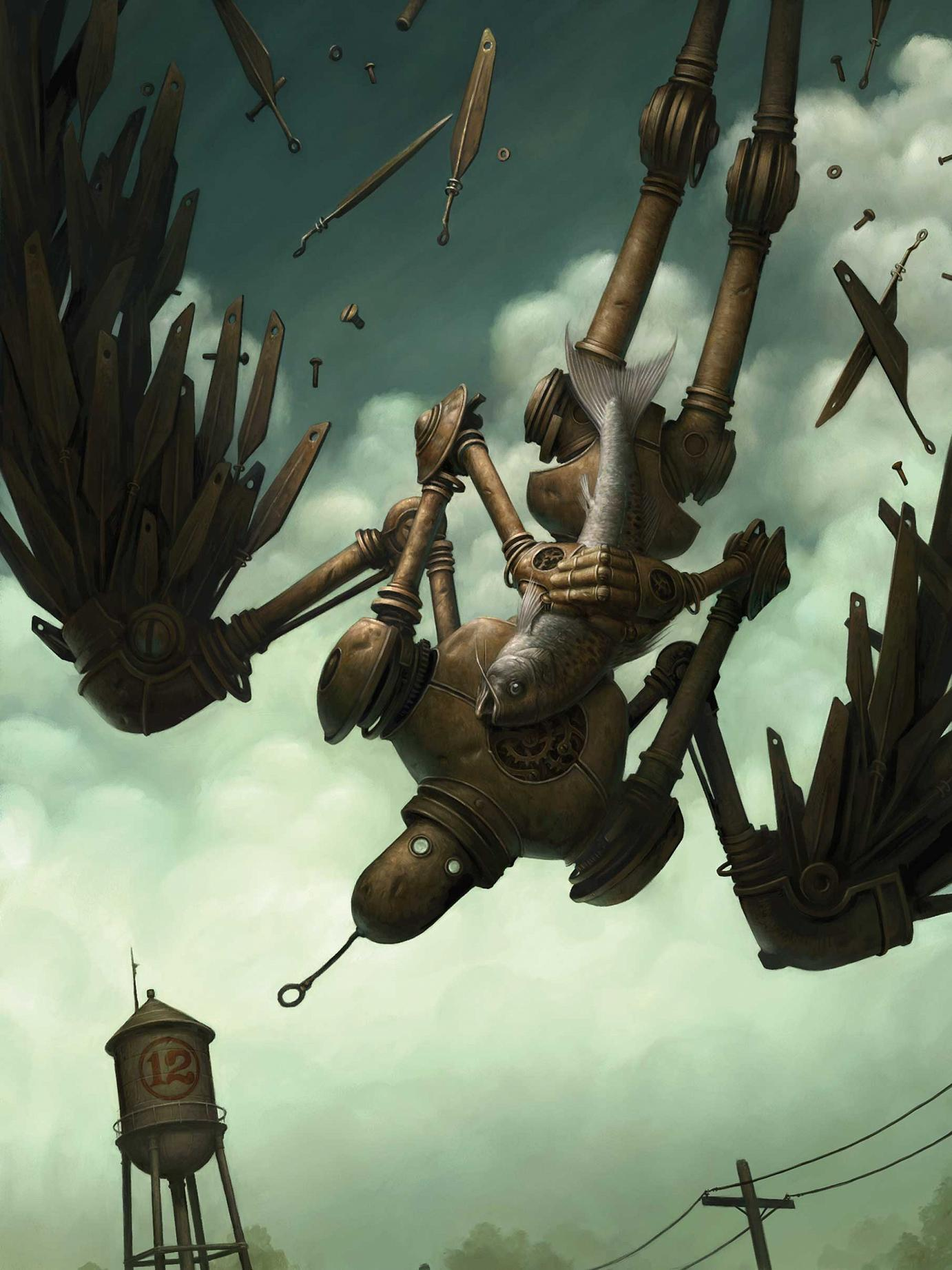 Brian Despain »The Icarus Fish« 2004 digital