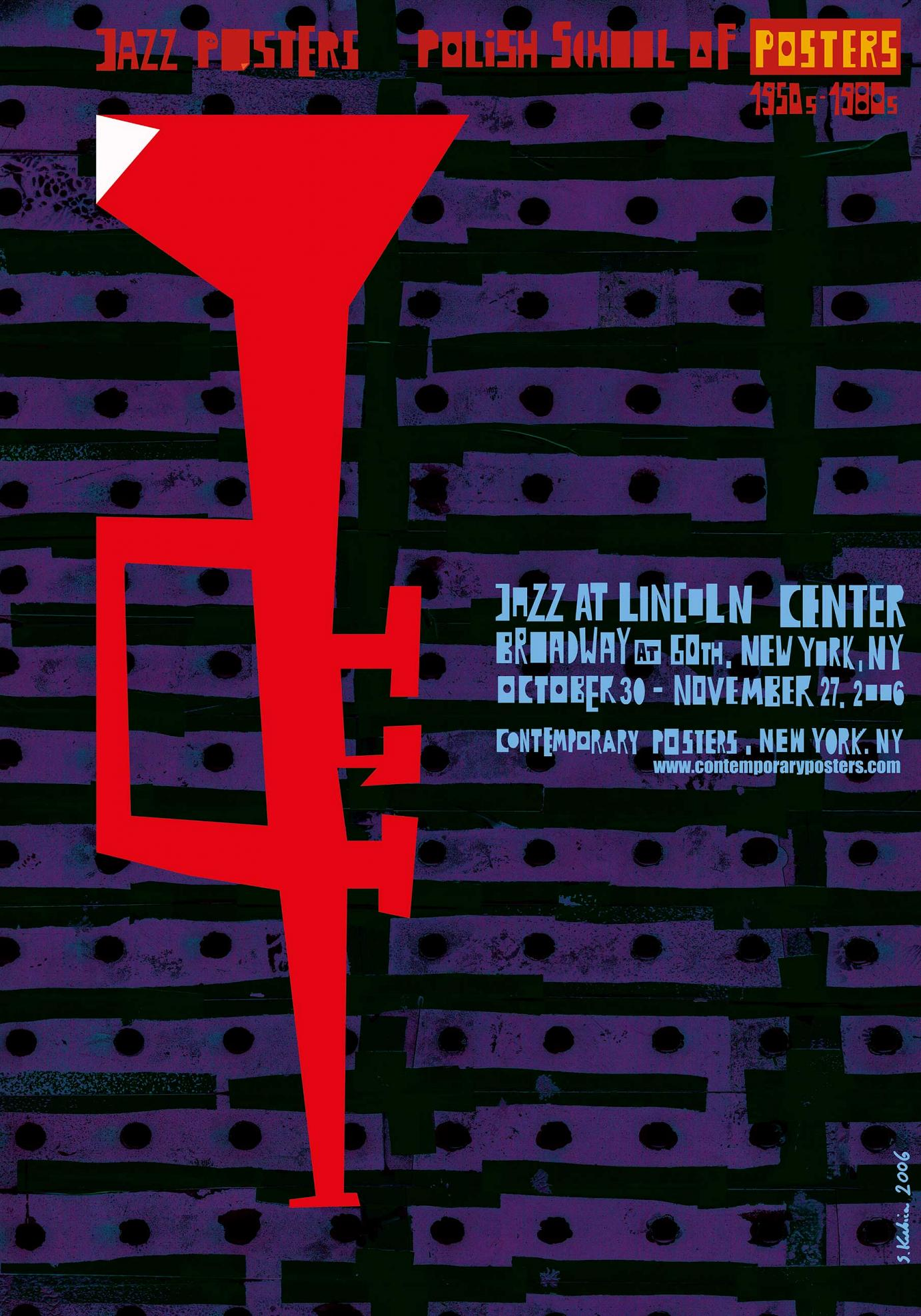 Sebastian Kubica »Jazz Posters« (2006)