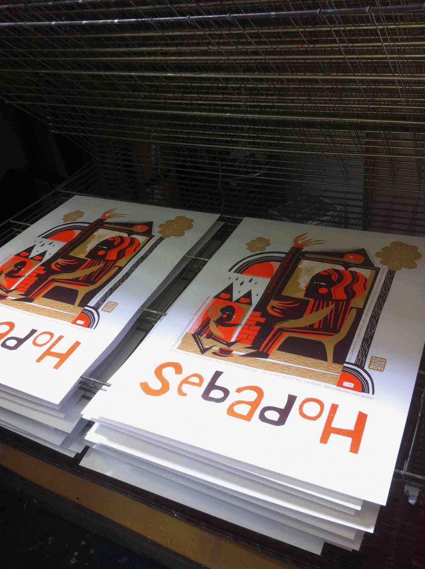 Print Sebadoh 2011